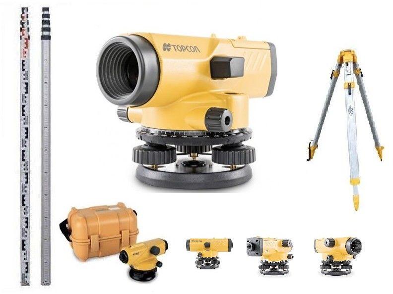 Topcon AT-B4A niwelator optyczny 24X Statyw + Łata ZestawProfesjonalny