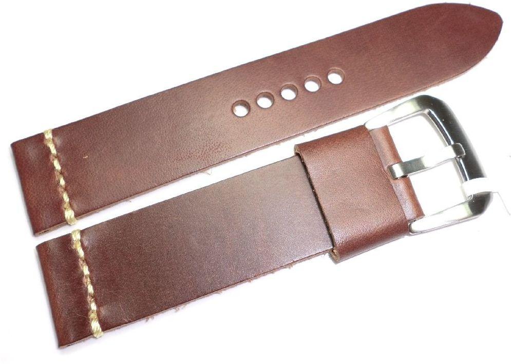 Skórzany pasek do zegarka 22 mm JVD R19703-22
