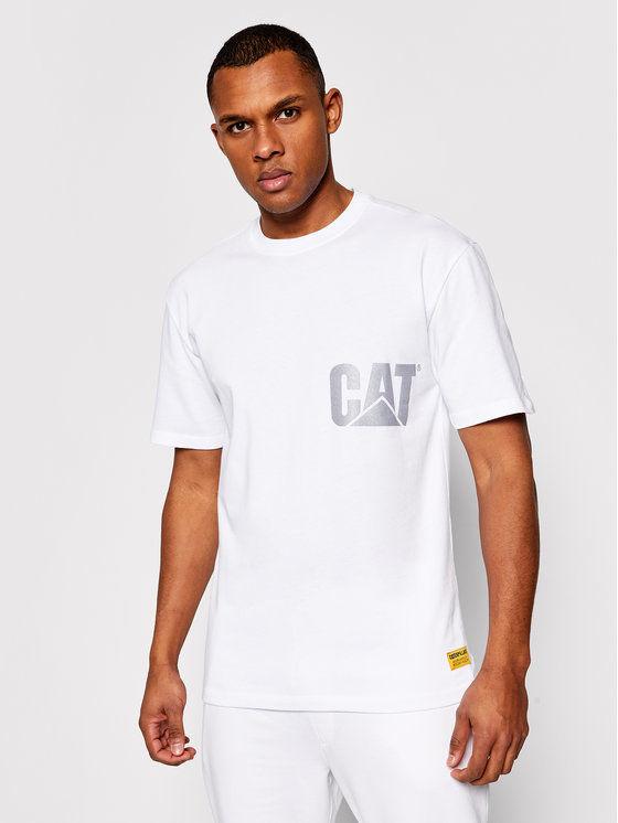 CATerpillar T-Shirt 2511548 Biały Regular Fit