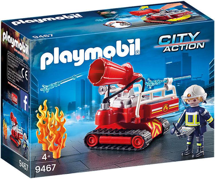 Playmobil - Robot do gaszenia pożaru 9467