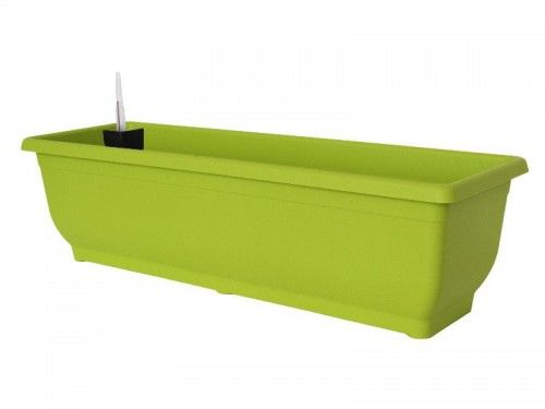 Doniczka 7,5L samonawadniająca Zielony 50x17x14cm Gloria