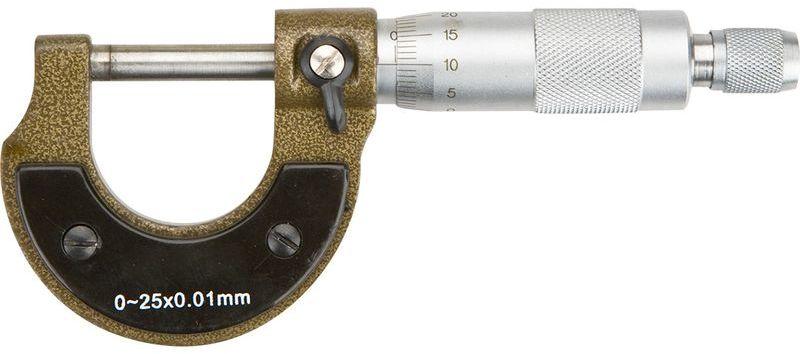Mikrometr analogowy 0-25mm długość 135mm dokałdność +/-0,01mm 31C629