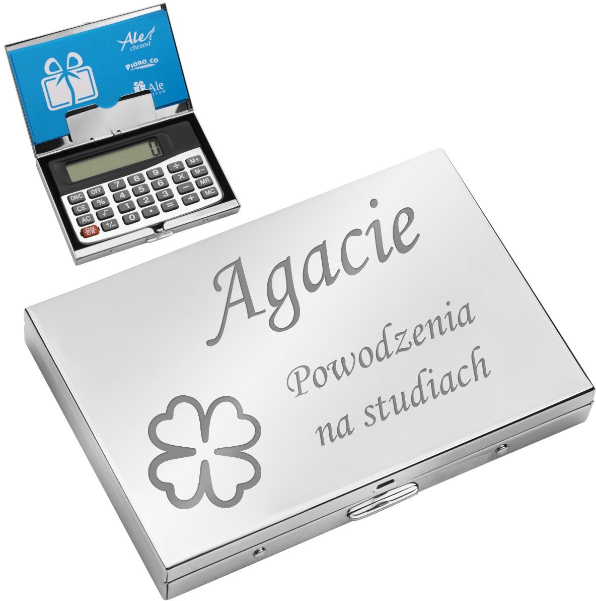 Wizytownik z kalkulatorem Prezent z Grawerem