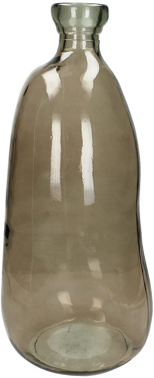 J. Kersten BV Wazon, szkło, brązowy, 22 x 22 x 51 cm