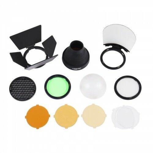 Godox AD200 round flash head accessories kit AK-R1