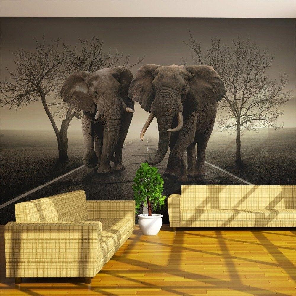 Fototapeta - miasto słoni