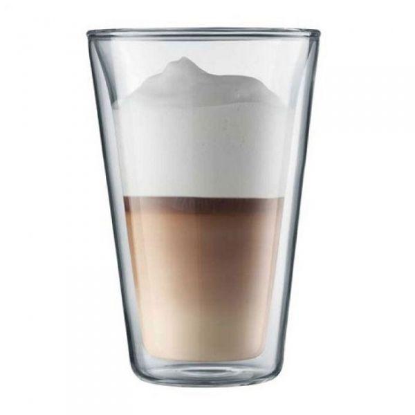 Bodum CANTEEN Szklanki Termiczne do Kawy Latte 400 ml 2 Szt.