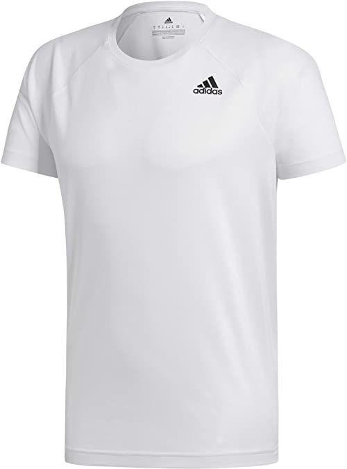 Adidas D2M Tee T-Shirt męski, biały, XS
