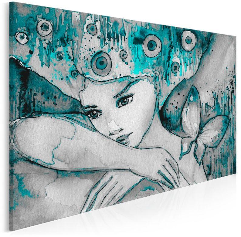 Morski urok - nowoczesny obraz do sypialni - 120x80 cm