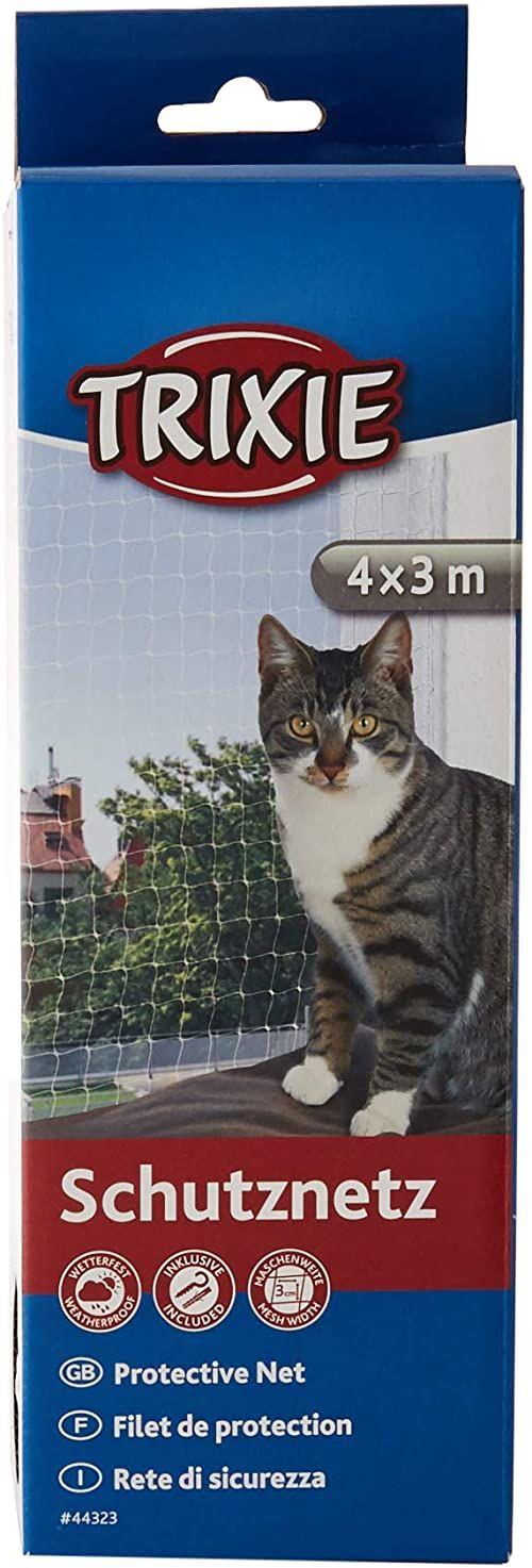 Trixie 44323 siatka ochronna, 4  3 m, przezroczysta