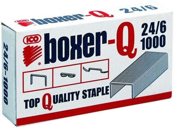 Zszywki ICO BOXER 24/6 1000 szt. - X08258
