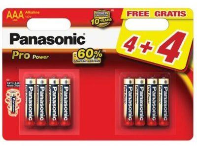 Bateria PANASONIC LR03PPG/8BW. > DARMOWA DOSTAWA ODBIÓR W 29 MIN DOGODNE RATY