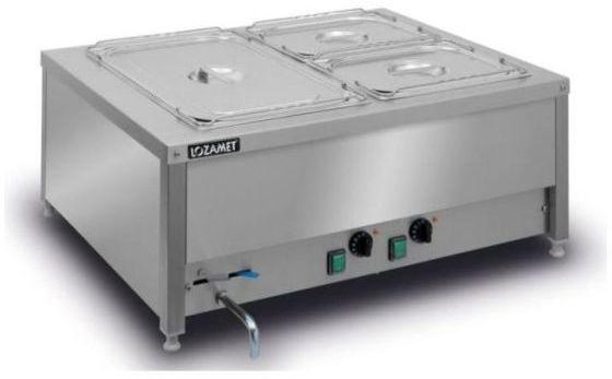 Bemar elektryczny stołowy 2-komorowy BSN.2GN