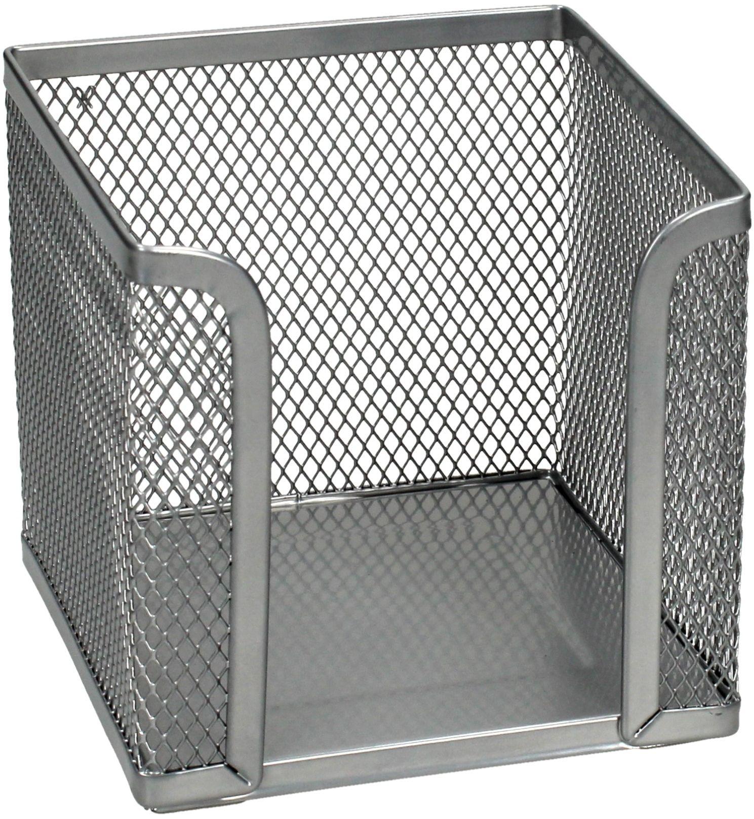 Pojemnik na karteczki siatka srebrny Z701 Net