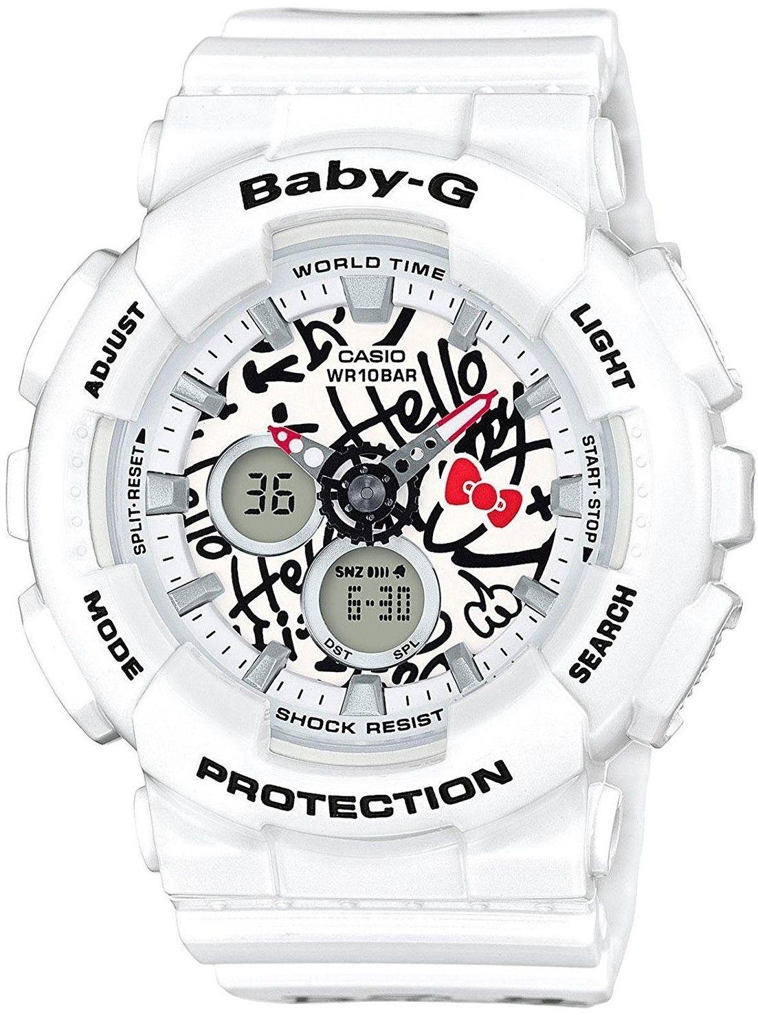 Zegarek Casio BA-120KT-7AER Hello Kitty - CENA DO NEGOCJACJI - DOSTAWA DHL GRATIS, KUPUJ BEZ RYZYKA - 100 dni na zwrot, możliwość wygrawerowania dowolnego tekstu.