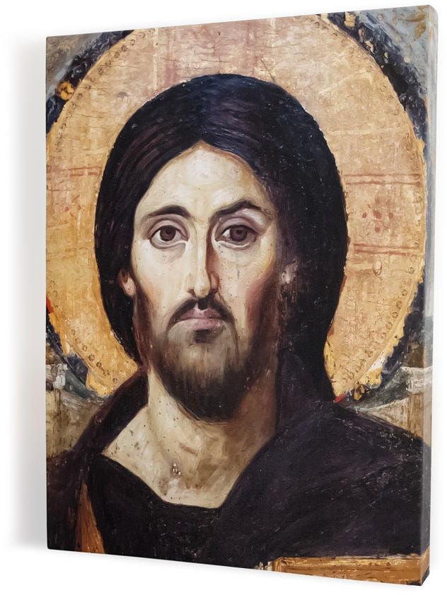 Chrystus Pantokrator, obraz religijny na płótnie canvas