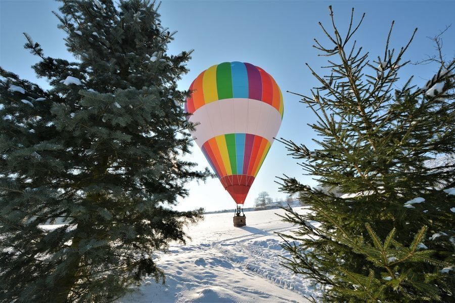 Lot balonem - Opole