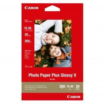 """Canon PP-201 Photo Paper Plus Glossy, papier fotograficzny, błyszczący, biały, 13x18cm, 5x7"""", 275 g/m2, 20 szt."""