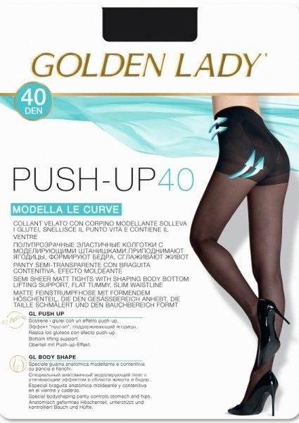 Golden lady push-up 40 den rajstopy