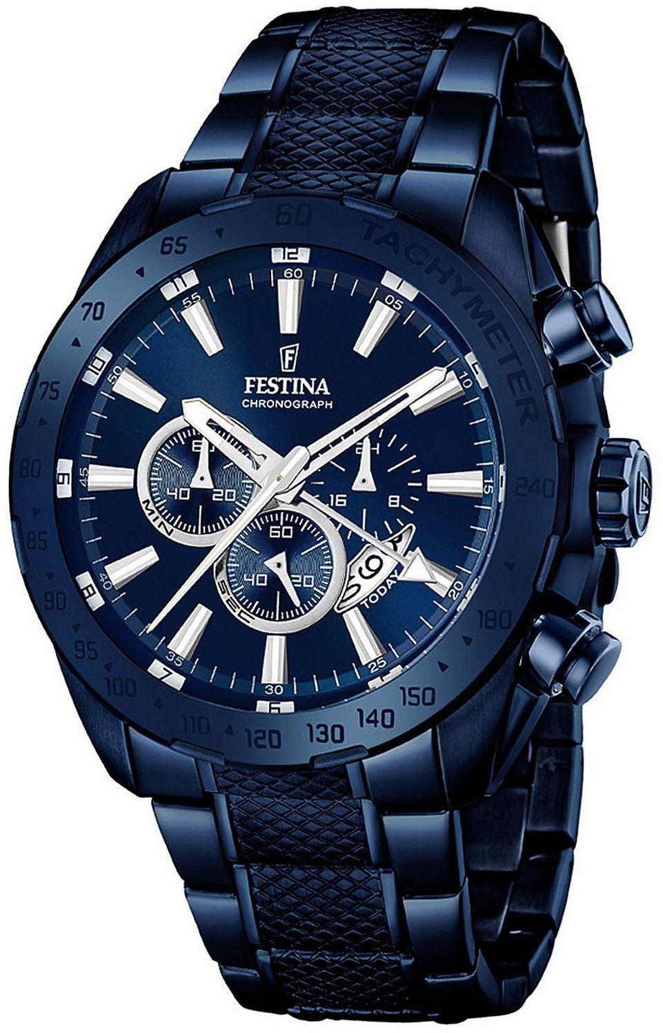 Zegarek Festina F16887-1 Prestige Chronograph - CENA DO NEGOCJACJI - DOSTAWA DHL GRATIS, KUPUJ BEZ RYZYKA - 100 dni na zwrot, możliwość wygrawerowania dowolnego tekstu.
