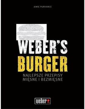 "Książka ""Burgery"" Weber (83430) --- CERTYFIKOWANY PARTNER Weber WORLD"