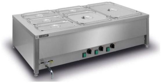 Bemar elektryczny stołowy 3-komorowy BSN.3GN