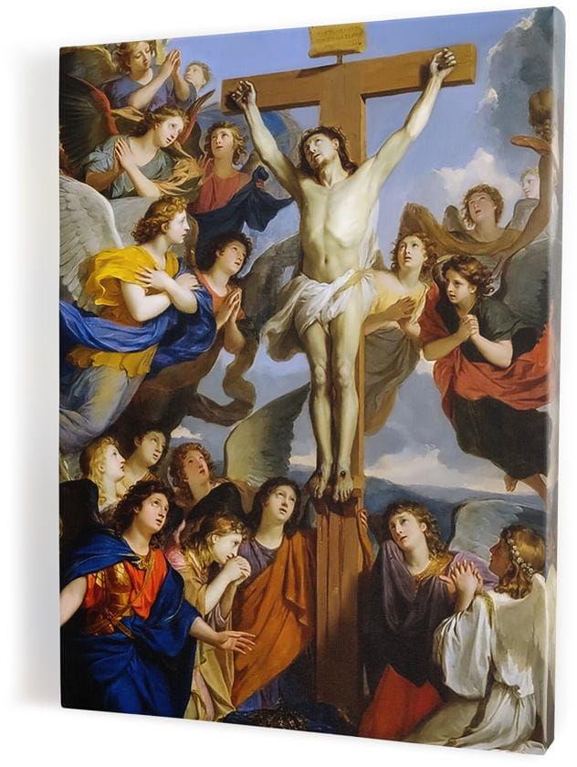 Ukrzyżowanie Chrystusa, obraz religijny na płótnie canvas
