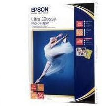 Epson S041944 Ultra Glossy Photo Paper, papier fotograficzny, błyszczący, biały, 13x18cm, 300 g/m2, 50 szt.