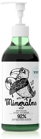 YOPE Naturalne mydło kuchenne Mineralne 500 ml