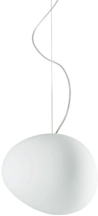 Gregg Media Ø31 biały - Foscarini - lampa wisząca