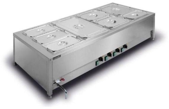 Bemar elektryczny stołowy 4-komorowy BSN.4GN