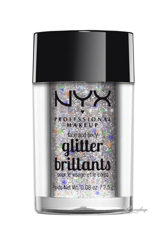 NYX Professional Makeup - Glitter Brillants - Brokat do twarzy i ciała - 06