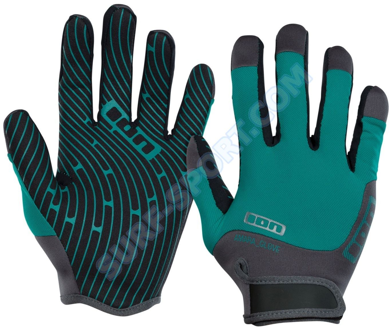 Rękawiczki ION Amara Gloves Full Finger 2018 Emerald/Marine