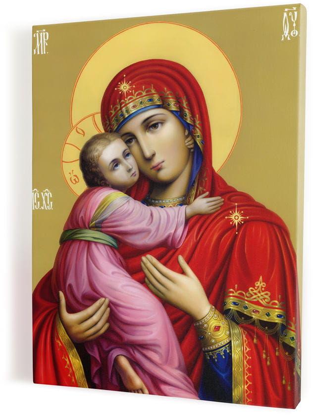 Matka Boża z Dzieciątkiem, obraz religijny na płótnie