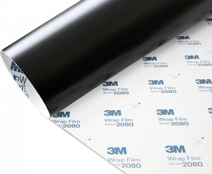 Folia Czarny Mat Satyna 3M S12 2080 152x30cm