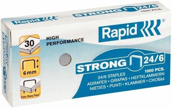 Zszywki RAPID STRONG 24/6 1000 szt. - X08288