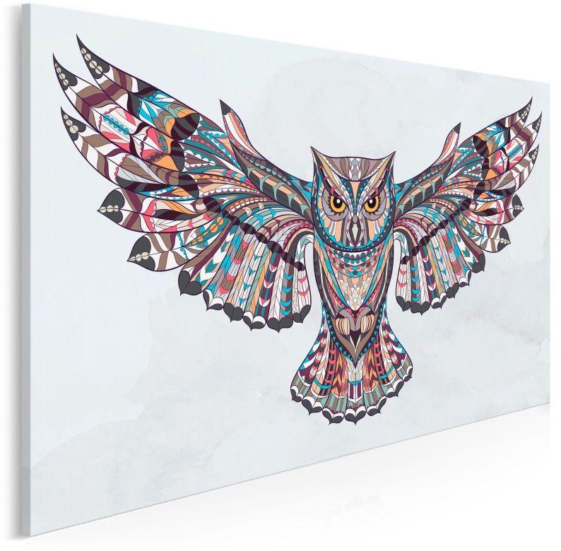 Indiańskie mądrości - nowoczesny obraz do sypialni - 120x80 cm