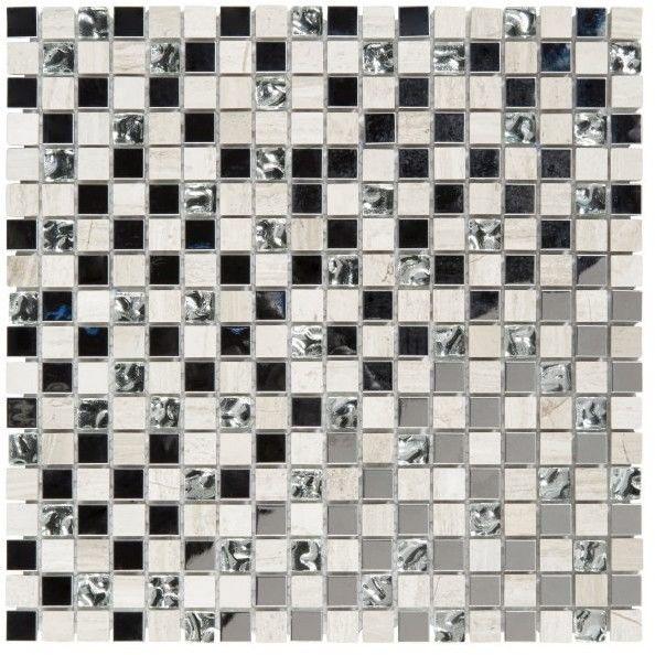 Mozaika Mecine Colours 30 x 30 cm szara