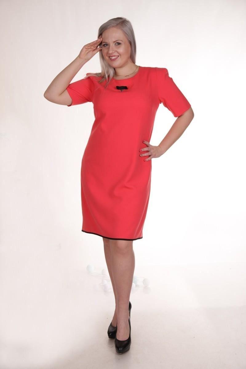 Sukienki Sukienka Suknie FSU768 CZAERWONY