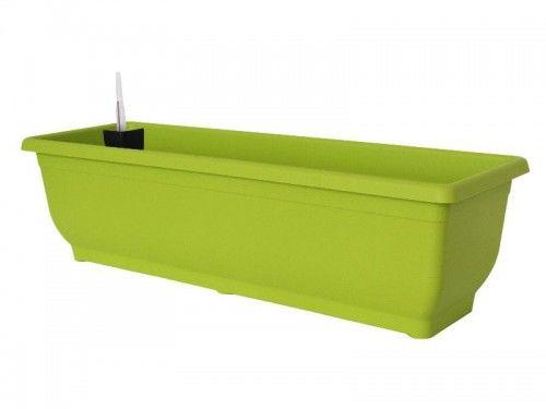 Doniczka 9L samonawadniająca Zielona 60x17x19cm Gloria