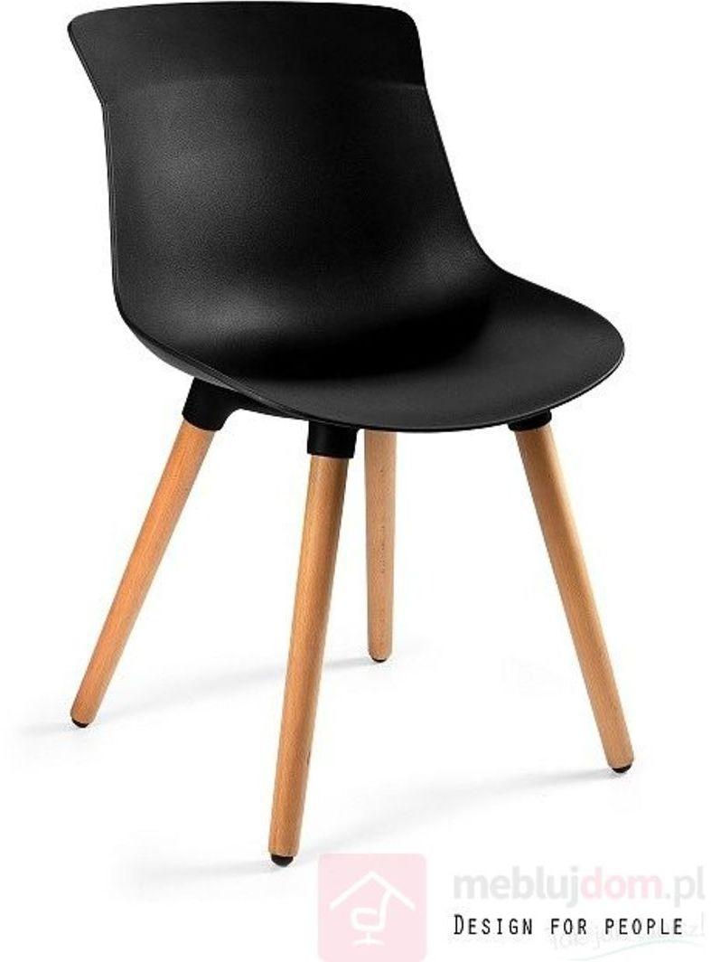Krzesło EASY M Unique Czarny  RABAT na stronie!