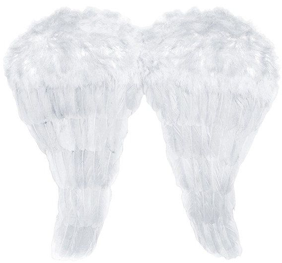 Skrzydła Anioła białe 52x45cm 1szt sk2-008