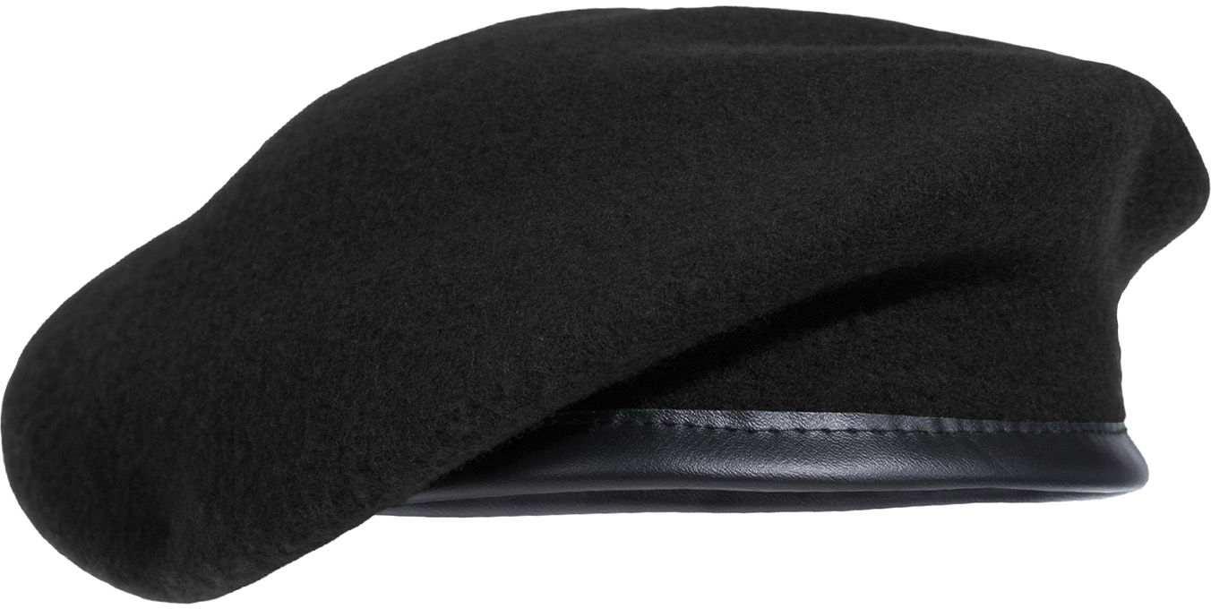 Beret Pentagon French Style Black (K13008-01)