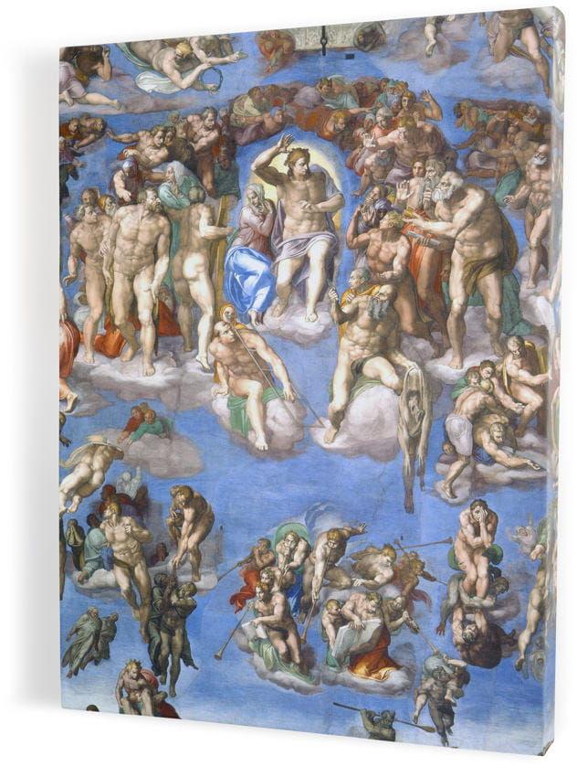 Sąd Ostateczny, obraz religijny na płótnie