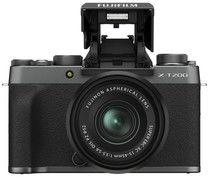 Aparat Fujifilm X-T200 + 15-45mm Ciemny Srebrny