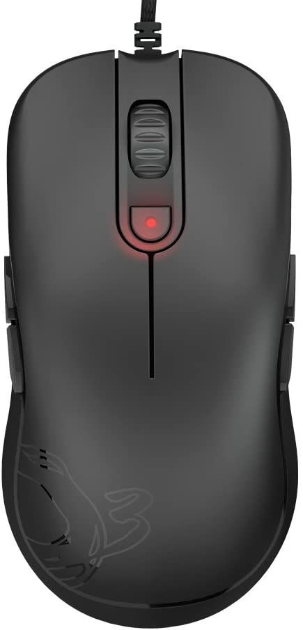 OZONE GAMING OZNEONM10 mysz gamingowa czerwona
