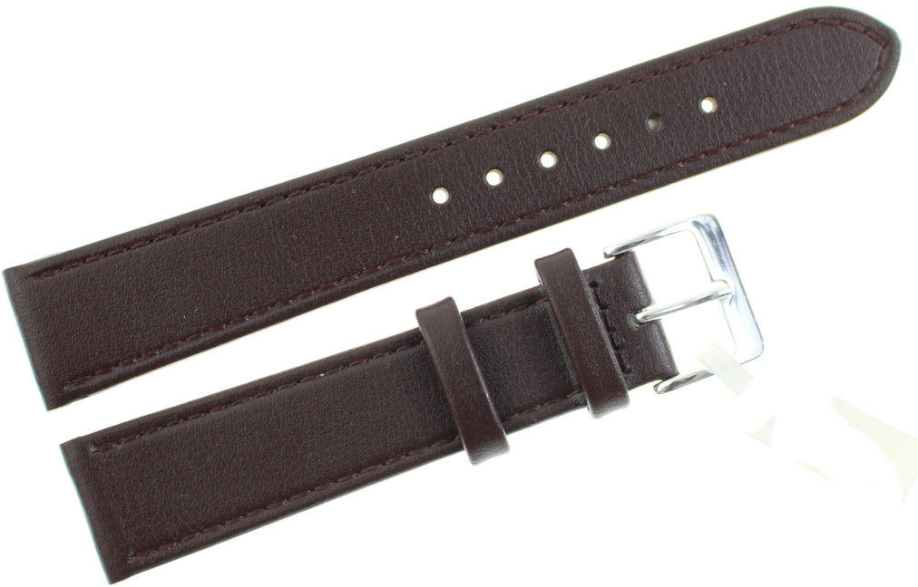 Skórzany pasek do zegarka 18 mm JVD R18202-18
