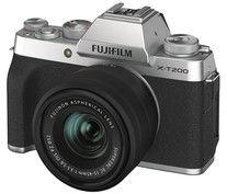 Aparat Fujifilm X-T200 + 15-45mm Srebrny