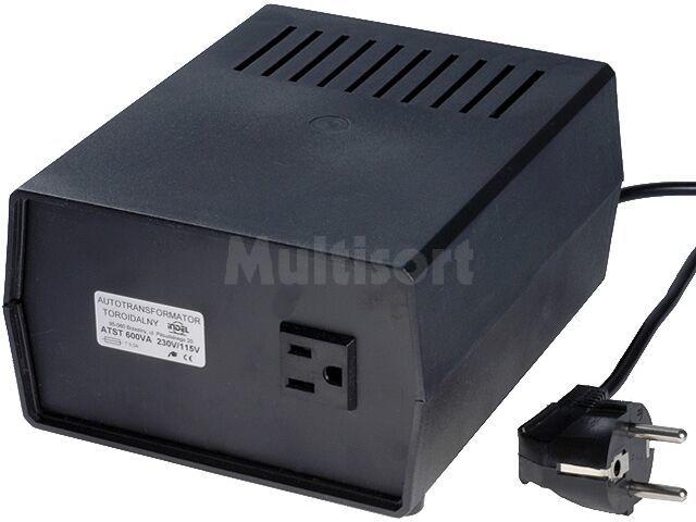 Konwerter napięcia sieciowego 230VAC/115VAC 600W