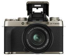 Aparat Fujifilm X-T200 + 15-45mm Złoty
